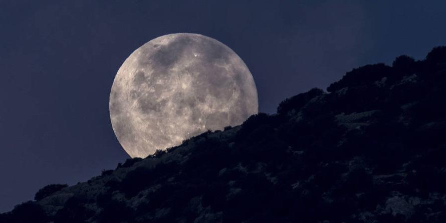 Así se le dará hoy la bienvenida a la luna en las Sierras de Rocha!